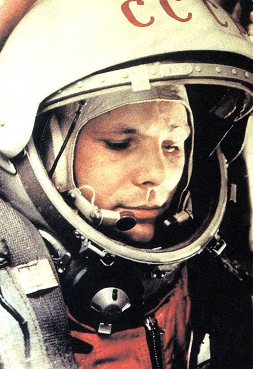 Yuri Alekseyevich Gagarin 9 March 1934 – 27 March 1968) was a Russian Soviet pilot and cosmonaut. He was the first human to journey into outer space, when his Vostok spacecraft completed an orbit of the Earth on 12 April 1961. #Gagarin #Russia #FamousPeople