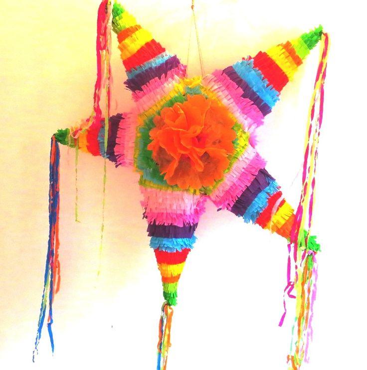 piñata étoile mexicaine pour vos fêtes, anniversaires et mariages d'été !! : Décorations murales par laly-cie