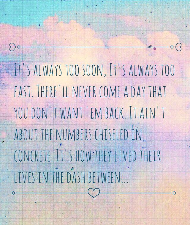The Dash Lyrics