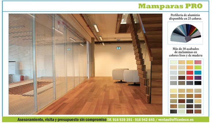 Mamparas de oficinas en madrid serie Pro   Muebles y sillas de oficina.