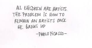 Image result for pablo picasso quote