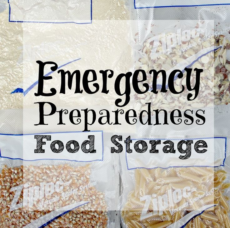 If you're interested in reducing food waste, refer to this emergency preparedness food storage list to find out how long things stay good.