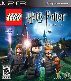 My husband bought me LEGO Harry Potter: Years 1-4 and 5-7 for his PS3... I'm so excited to go home and play them tonight! It will be the first video games I've played in years. Since Nintendo 64 came out probably... Lol