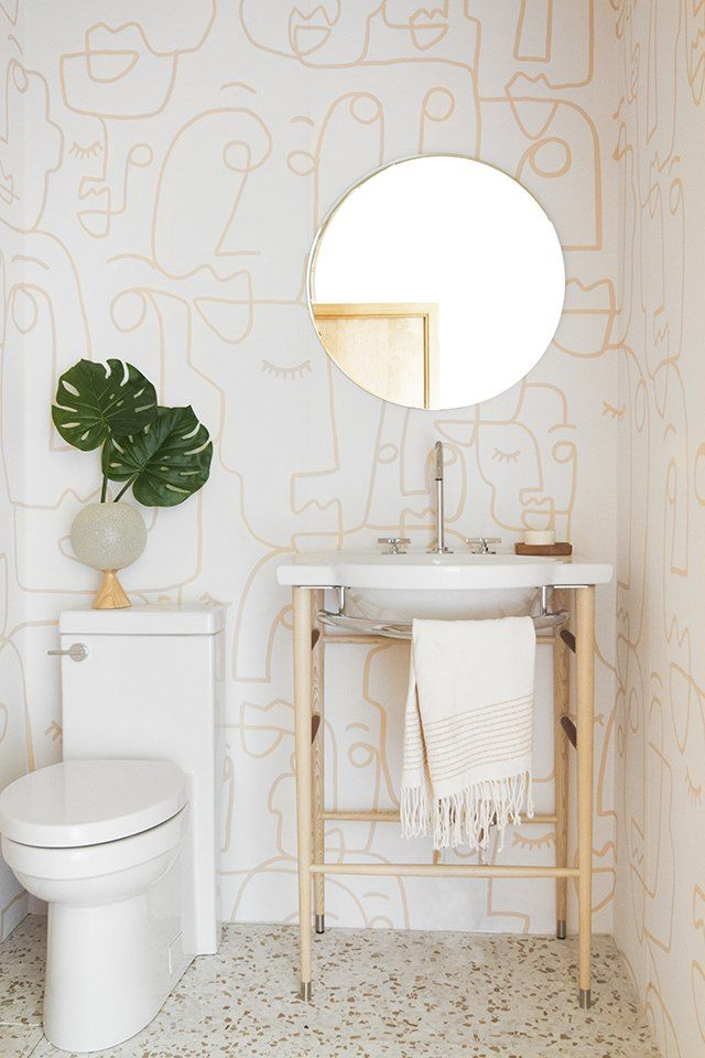10 Bathroom Wallpaper Ideas That Ll Make Everyone Ask Where D You Get That Hunker Bathroom Design Trends Bathroom Trends Bathroom Design Modern wallpaper for bathrooms 10