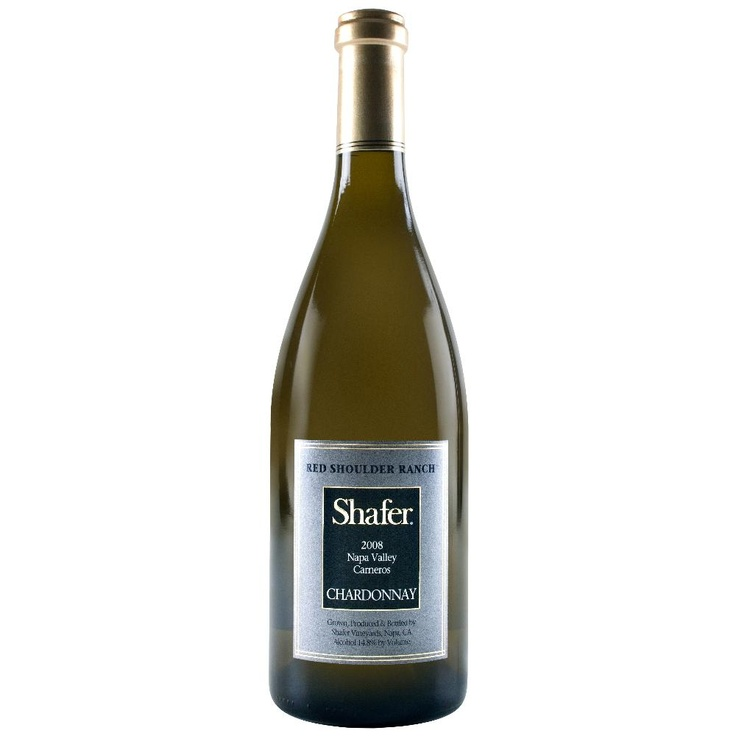 2008 Shafer Chardonnay Red Shoulder Ranch. An an irregular year for North Coast Chardonnay, Shafer's 2008 Chardonnay Red Shoulder Ranch is a winner. Elegant notes of orange blossoms, nectarines, pears and honeysuckle jump from the glass of this crisp, medium-bodied, richly fruity wine. Fresh, lively and flavorful, this impressive Chardonnay can be enjoyed over the next 2-3 years.