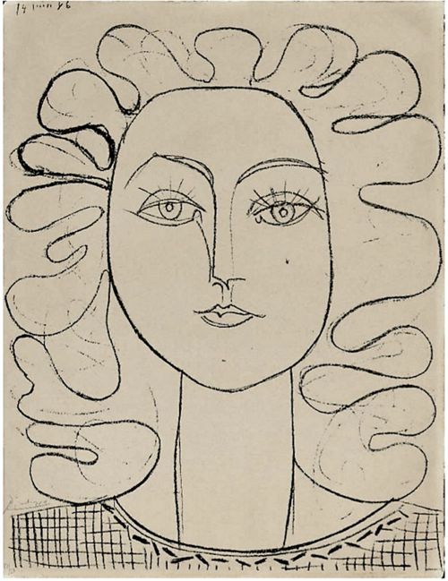 Picasso Line Drawing Face : Best pablo picasso images on pinterest