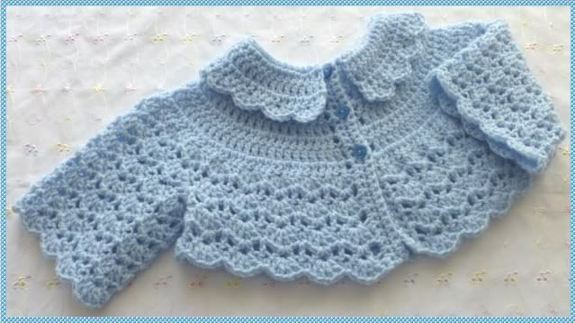 Resultado de imagen para free crochet patterns for baby bolero