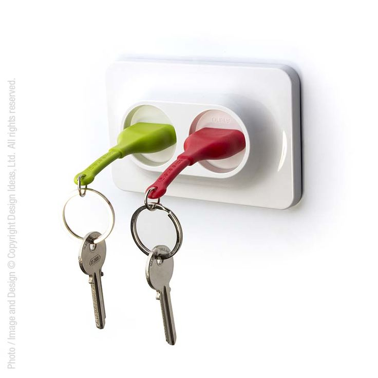 Use this key ring holder and you'll be shocked when your keys are right where they're supposed to be.#keys #keeptrack #oneplace