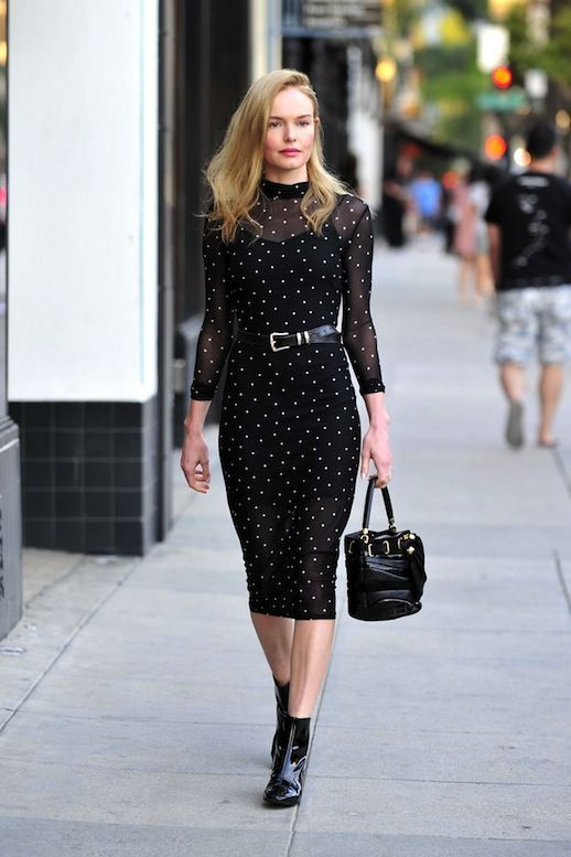 cool Get Kate Bosworth's All-Black Sheer Dress Look... Celebrity Style Check more at http://pinfashion.top/pin/60133/