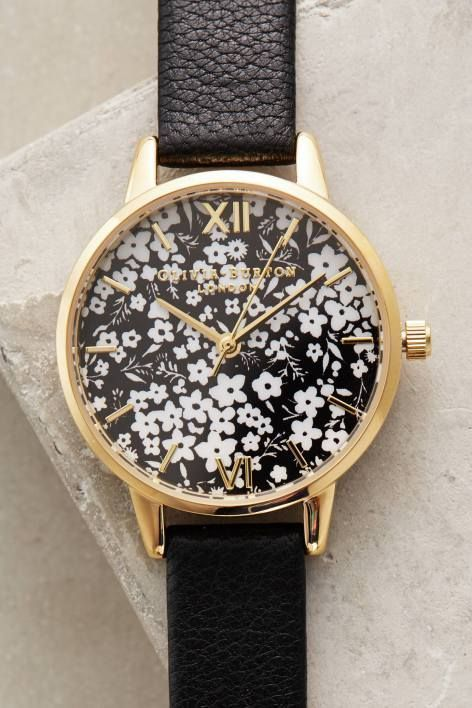 Ditzy Floral Watch by Olivia Burton | Pinned by topista.com