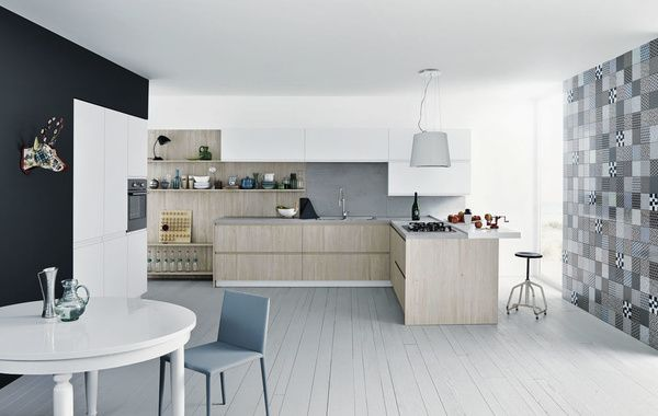 Cozinhas de madeira clara, Parejas de la mano e Llave de impacto