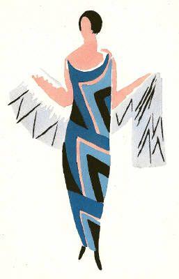 Sonia Delaunay's artwork titled Carnaval de Rio presented by Artophile