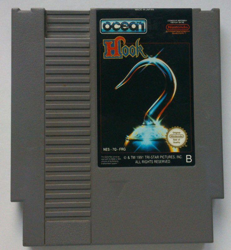 Rare Original NES Hook PAL platformer game (1992)