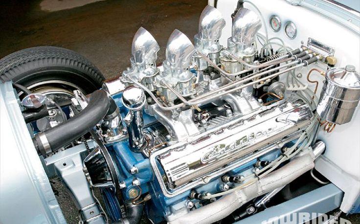 Hot Rod Lowrider Engine Bay | Great Machines plus