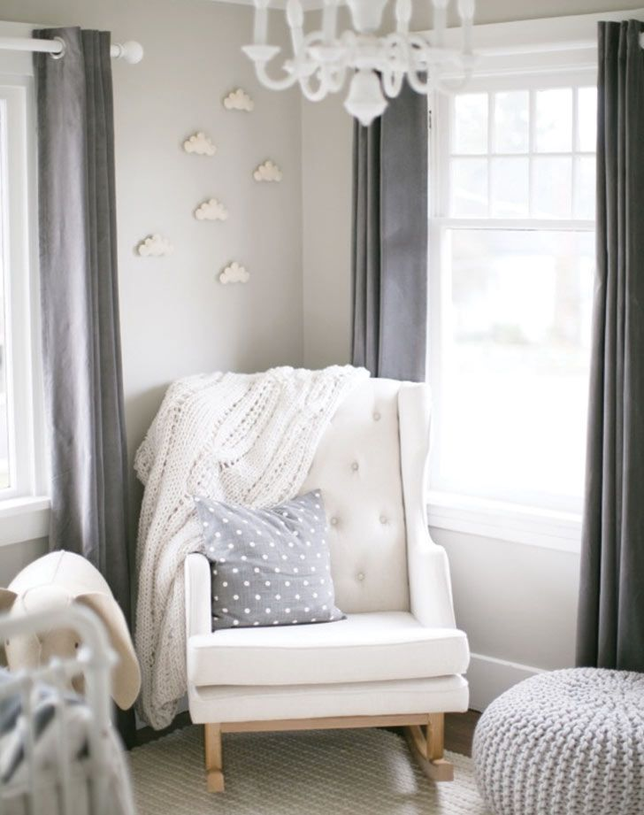 Gender neutral nursery ideas we love: Non-babyish design. Go for classic, modern designs that can go the distance in your baby's room.