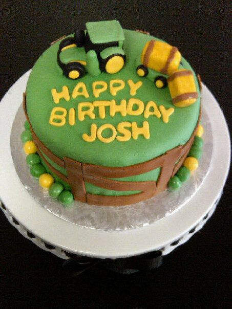 17 best Farmer images on Pinterest Birthday cakes Tractor