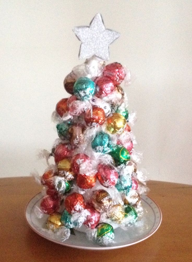 Our 2014 Xmas tree - tribute to Lindt