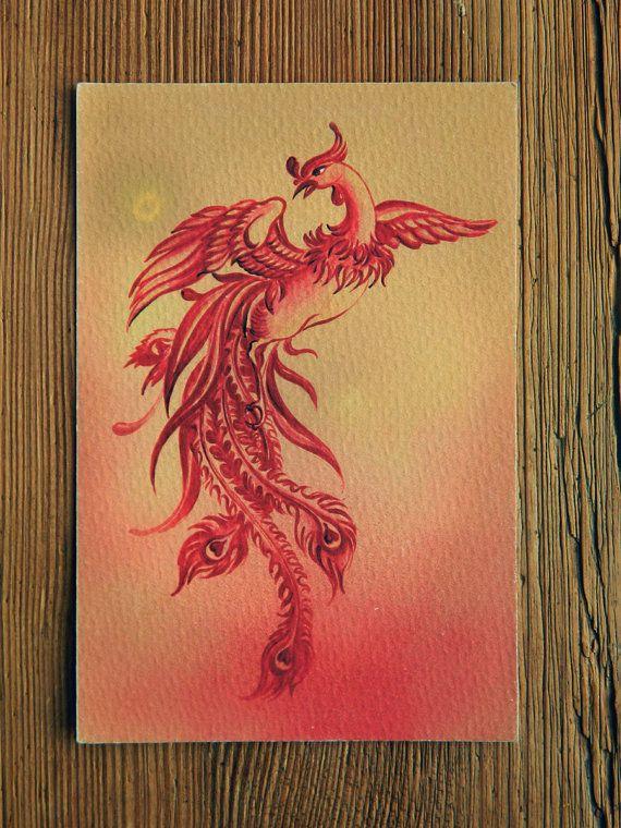 """THE PHOENIX"" - from series ""Power Animals"" by Anna Miarczynska"