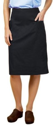CARGO POCKETS LADIES SCRUB SKIRT (POPLIN FABRIC)