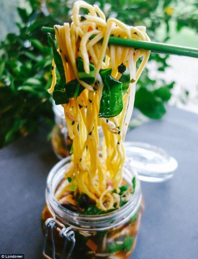 The Londoner's recipe for Travelling Noodles - a one pot noodle soup recipe designed for a...