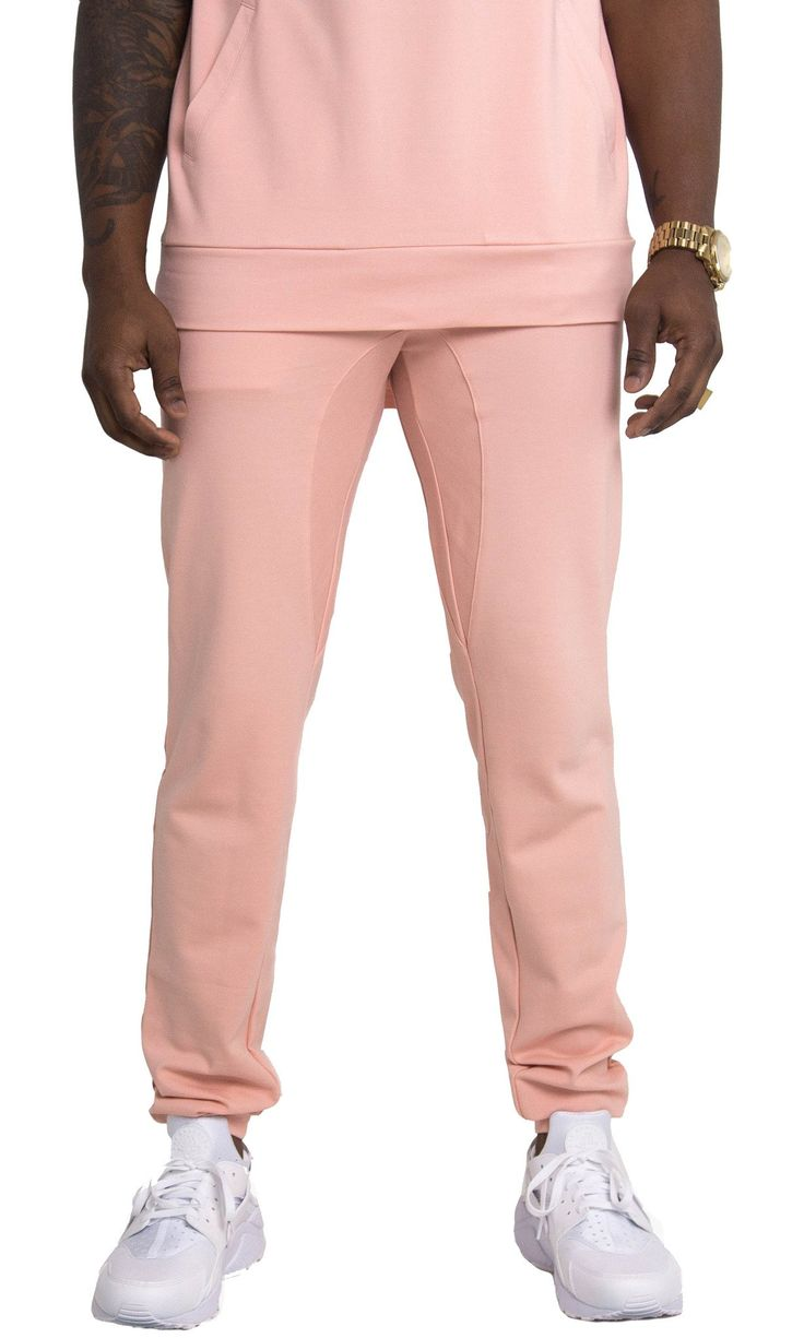Genuine By Anthony Coral Dry Fit Joggers #yeezy #pink #joggers #crossfit