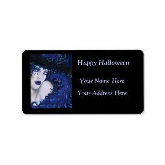 Goth address label