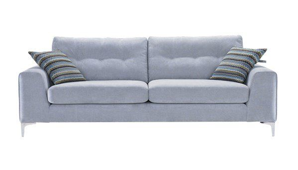 Demure Fabric Sofa Range sofaworks Grey living room decor and furniture Pinterest