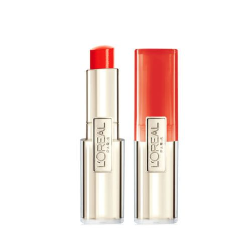L'Oreal paris Lip Balm Caresse Melting Tint #707 Orange Full Size Lipstick Stick #LOralParis
