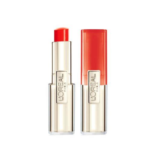 L'Oreal paris Lip Balm Caresse Melting Tint #707 Orange Full Size Lipstick Stick #LOralParis