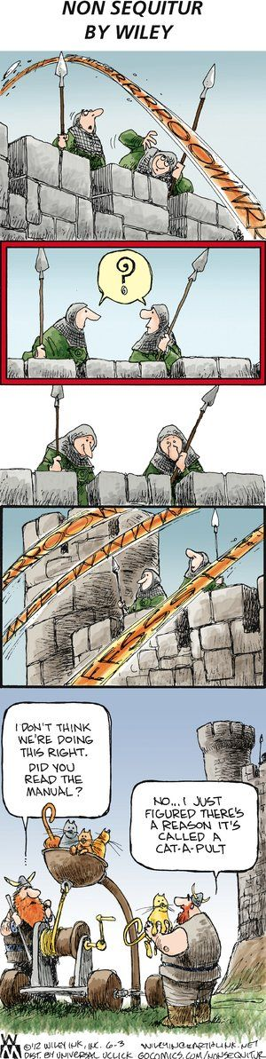 Non Sequitur  By Wiley Miller  6.3.2012
