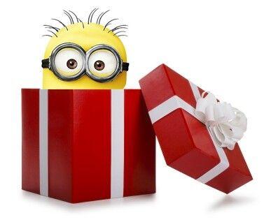 Minion in a box!