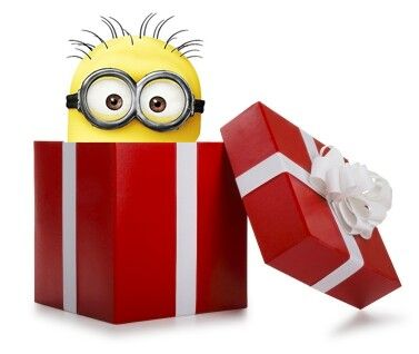 Minion in a box!