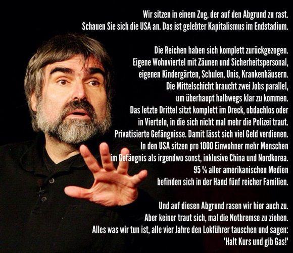 Zitate von Volker Pispers