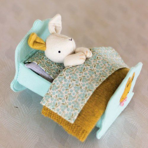 """""""Rest Little Rabbit"""" designed by Simone Gooding for May Blossom."""