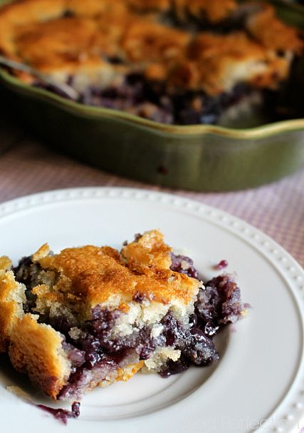 Gluten-Free Blueberry Cobbler. I've made this twice. It's quickly assembled with a few ingredients. Keeper!! And impressive too.