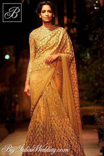 Sabyasachi Delhi Couture Week 2013 | Lehengas & Sarees | Bigindianwedding