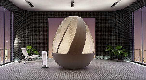 Roca Cocoon Shower Stall by Arina Komarova