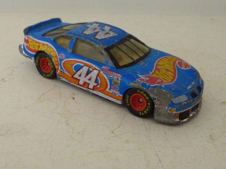HOT WHEELS #44  RACED VERSION KYLE PETTY PONTIAC  LOOSE 1996 #HotWheels #Pontiac