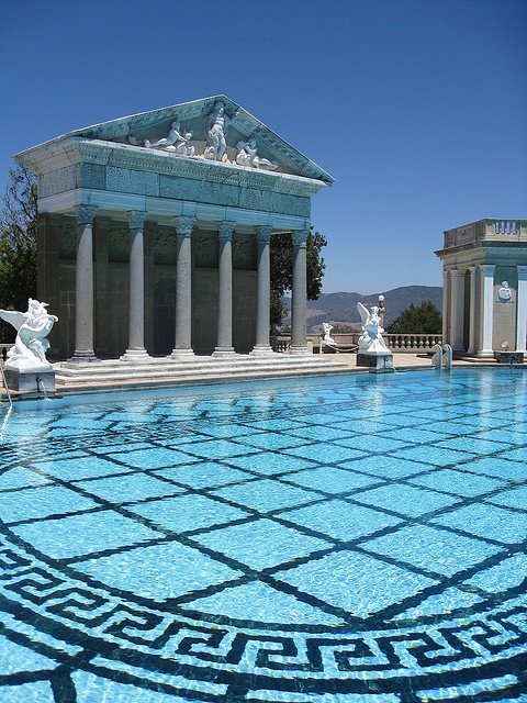 75 best hearst castle history images on pinterest san for Outdoor pool sculptures
