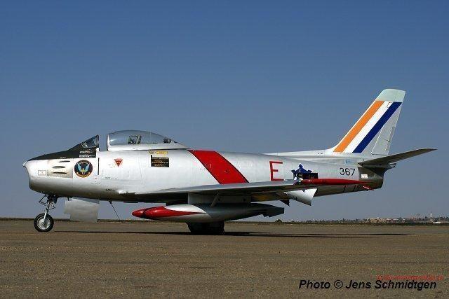 South African Air Force Canadair CL-13B Sabre Mk 6