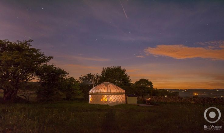 Hired by Secret Cloud House in Staffordshire to photograph their yurts