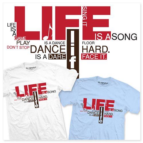 "T-Shirt ""Life is…"" – HAKUNA MATATA"