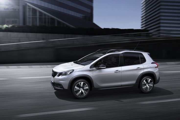 The New Peugeot 2008 has real road-presence.