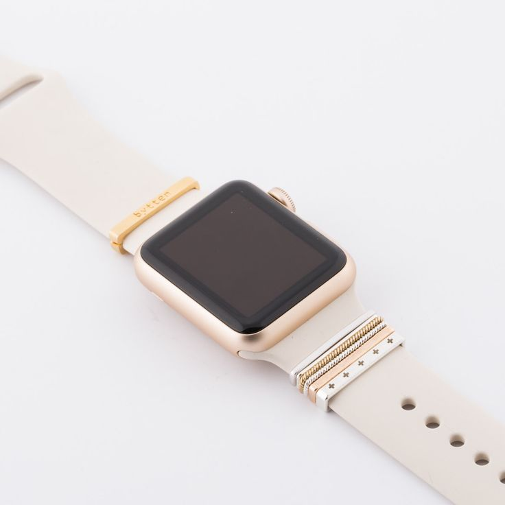Classic Stack™ Apple Watch accessory + color coordinated clasp (for Sport bands) by bytten on Etsy https://www.etsy.com/listing/277973652/classic-stack-apple-watch-accessory