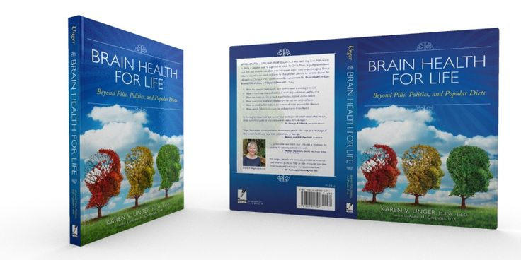 Book Cover Design - Brain Health for Life