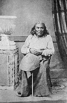 "Chief Seattle (c. 1786 – June 7, 1866) was a Suquamish Tribe (Suquamish) and Dkhw'Duw'Absh (Duwamish) chief.[2] A prominent figure among his people, he pursued a path of accommodation to white settlers, forming a personal relationship with ""Doc"" Maynard. The city of Seattle, in the U.S. state of Washington, was named after him. A widely publicized speech arguing in favor of ecological responsibility and respect of Native Americans' land rights had been attributed to him. However, what he…"