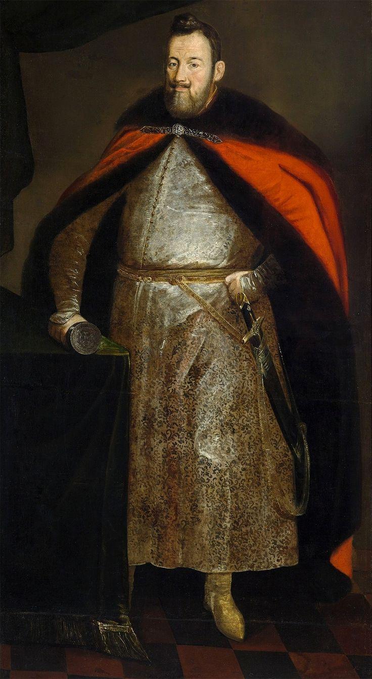 Portrait of Great Crown Chancellor Jerzy Ossoliński by Peter Danckerts de Rij, after 1643 (PD-art/old), Zamek Królewski w Warszawie (ZKW)