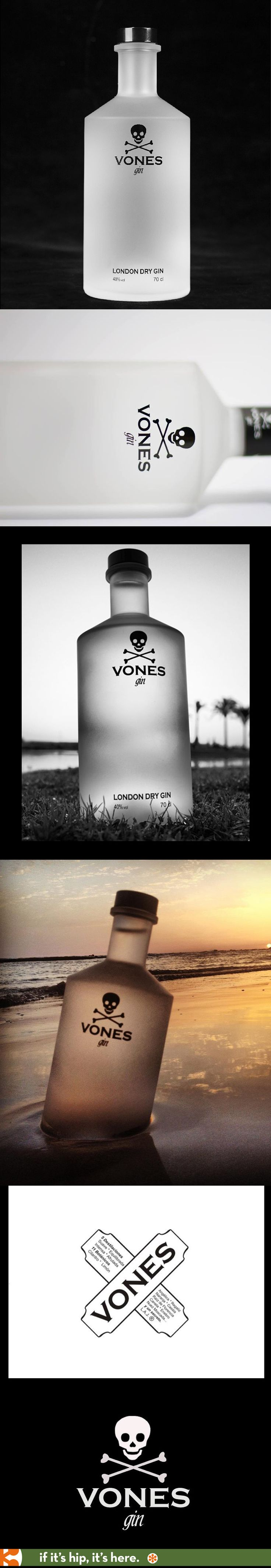 Vones Gin. Simple and an overused graphic, but I still like it :)