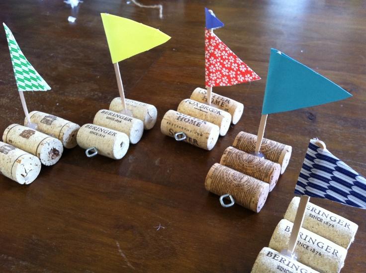 drink more wine. make cork boats.