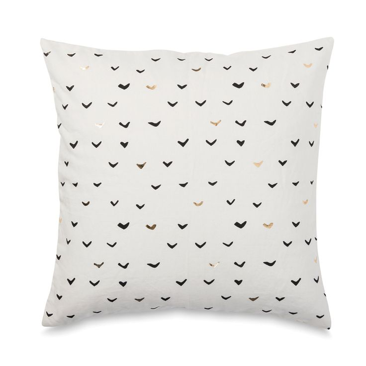 Lela Cushion Cover W/Gold Foil | Citta Design $64.90. Home Living RoomGold  ...